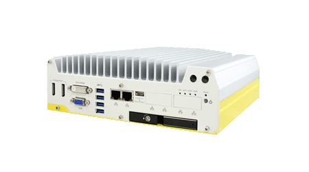 Nuvo-5100VTC – In-Vehicle Embedded PC mit 4x M12 PoE+