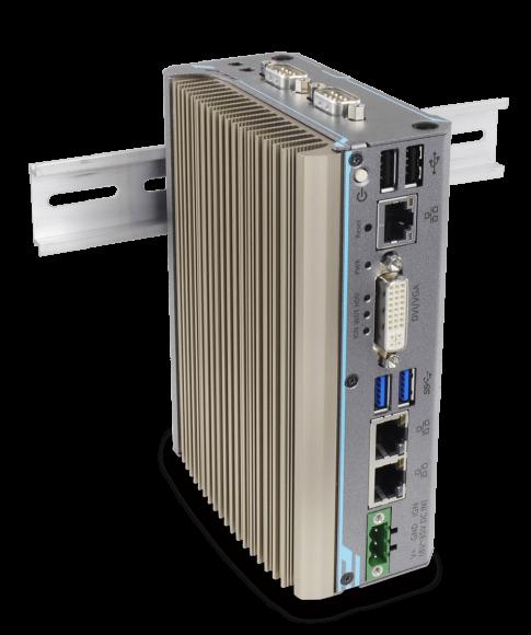 POC-300 Hutschienen Embedded PC mit GbE, PoE und USB3.0