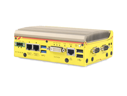 POC-351VTC Apollo Lake In-Vehicle PC mit GbE, PoE und CAN