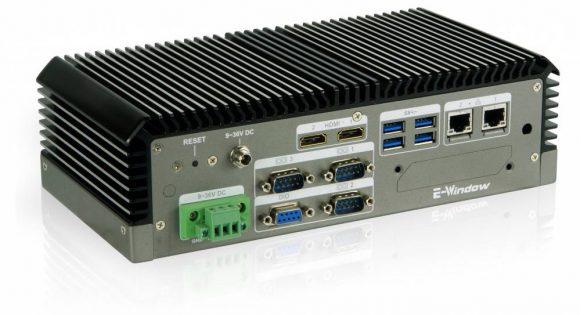 ECN-360A-ULT3 Lüfterloser Embedded-Rechner