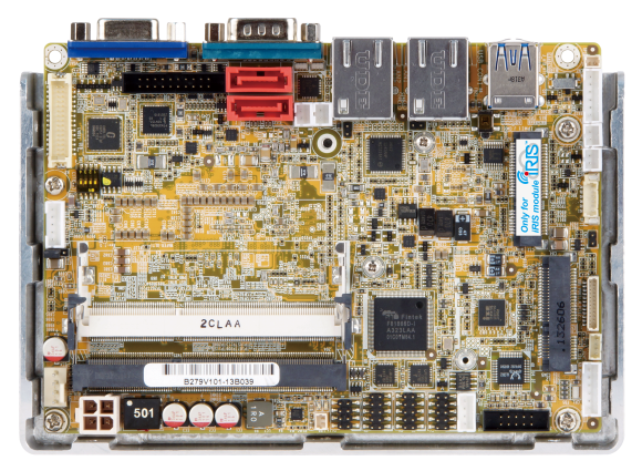 WAFER-ULT2-i1 – 3,5″ Board mit Intel 4th / 5th Gen. ULT SOC
