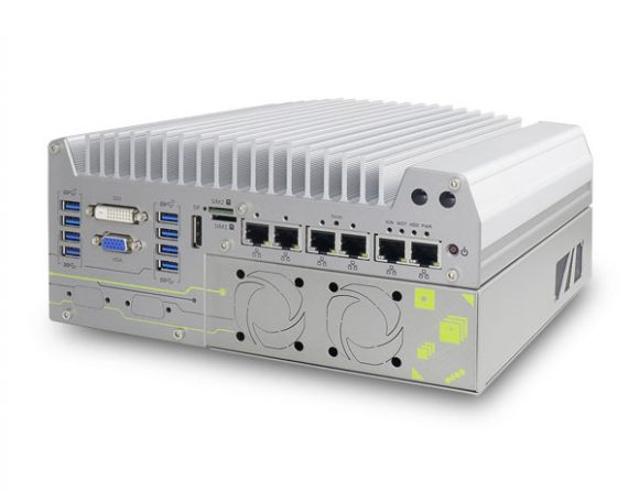 Nuvo-7160GC – Robuster Embedded PC mit Intel Core der 8. Gen
