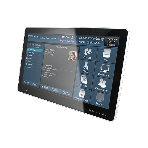 HID-2132 – 21,5″ Medical Panel PC mit PCAP Multi Touch