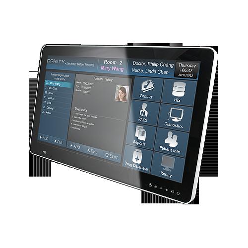HID-2132 – 21,5″ Medical Panel PC mit PCAP Multi Touch
