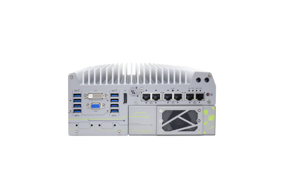 Nuvo-7164GC – KI-Embedded Box PC mit nVidia Tesla GPU