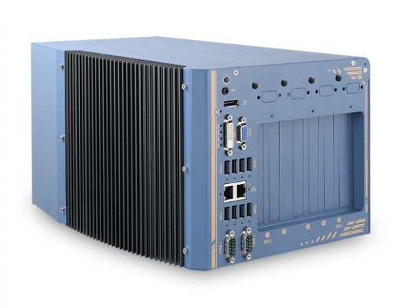 Nuvo-8208GC – GPU-Computerplattform für Edge Computing